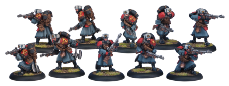 Khador Winter Guard Rifle Corps (10)   Plastic